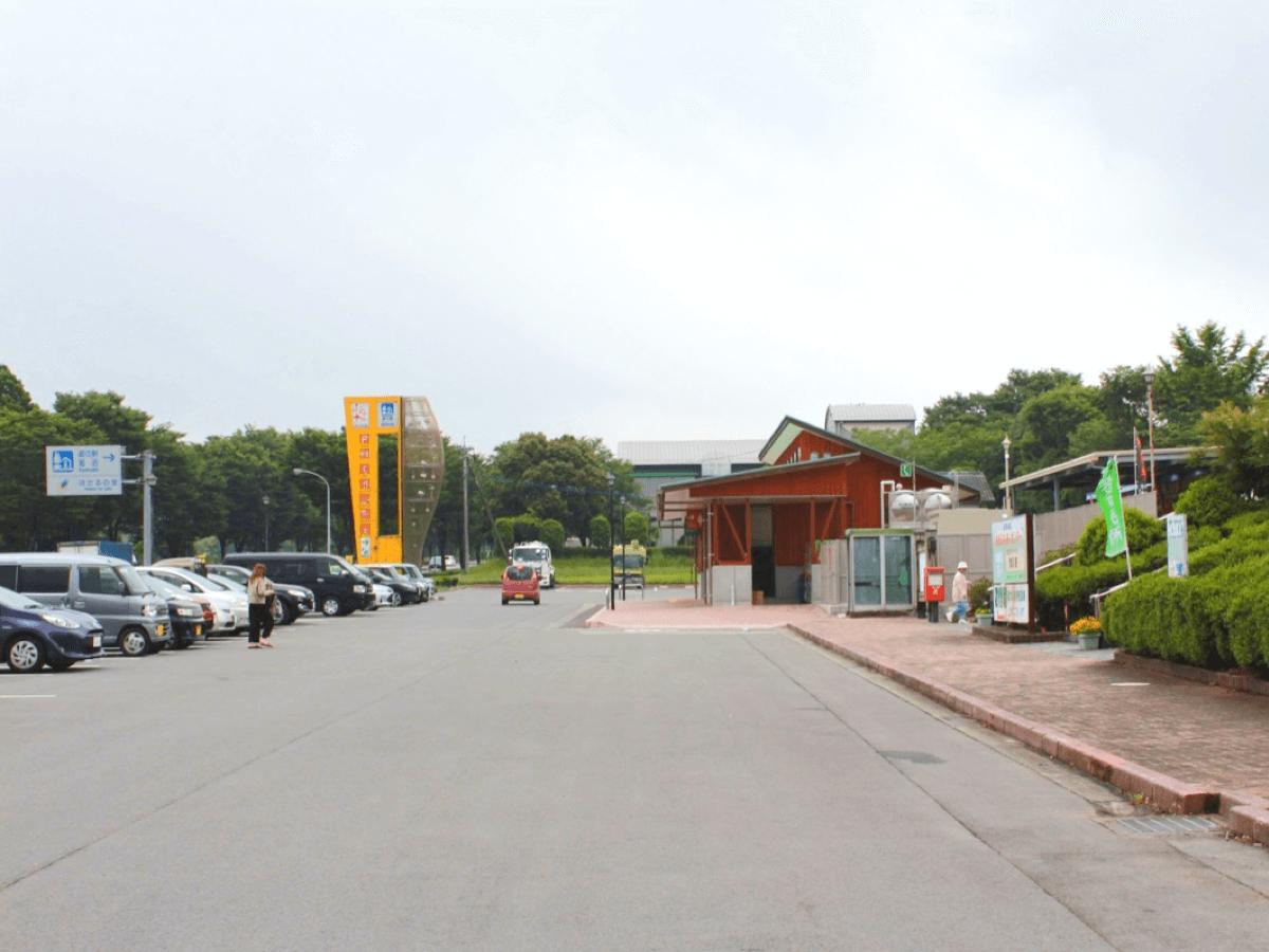 道の駅 旭志村ふれあいセンター駐車場