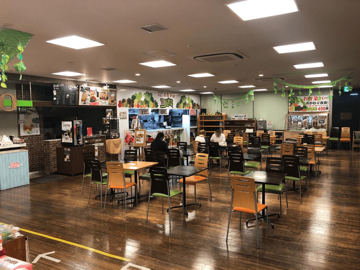 道の駅八王子滝山レストラン