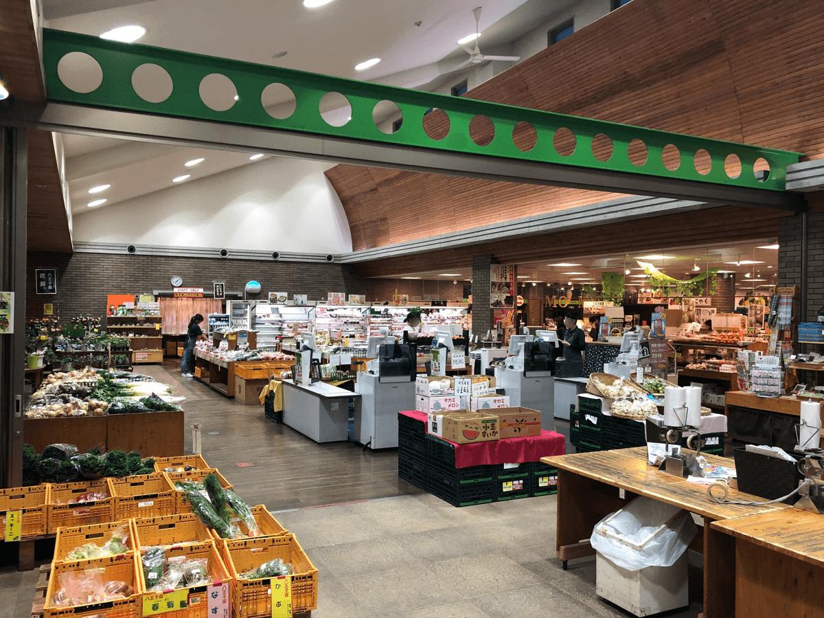 道の駅八王子滝山ショップ