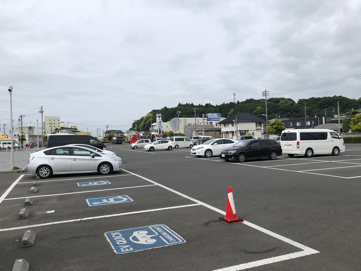 道の駅日立おさかなセンター駐車場