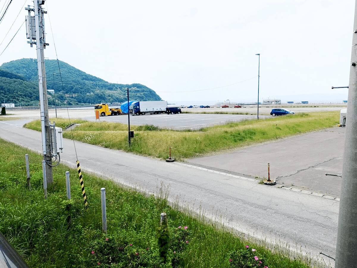 道の駅 ゆーさ浅虫 駐車場