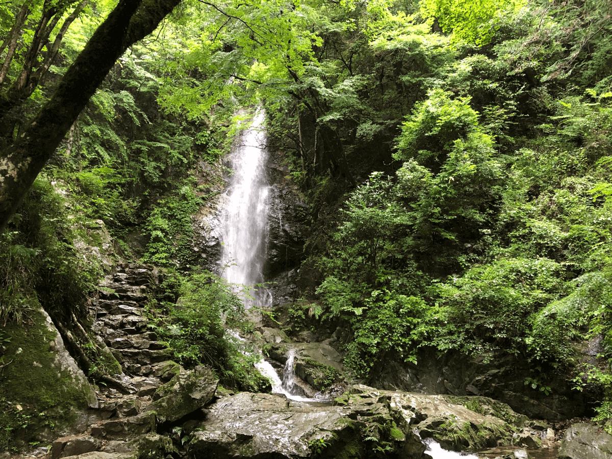 檜原村払沢の滝