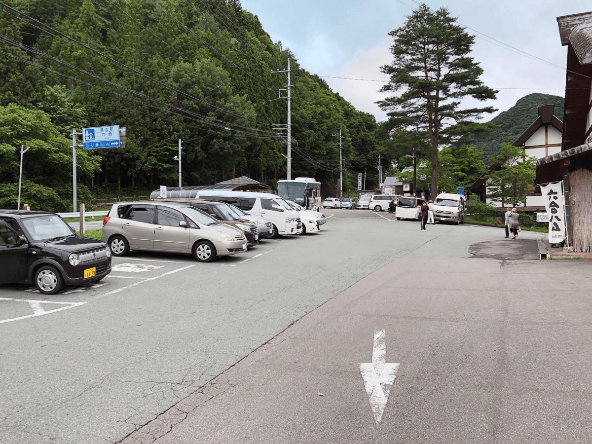 道の駅くに駐車場