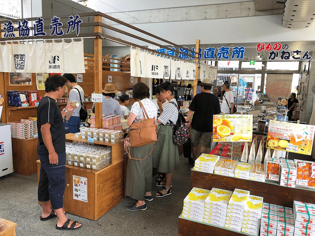 静岡県道の駅開国下田みなとショップ