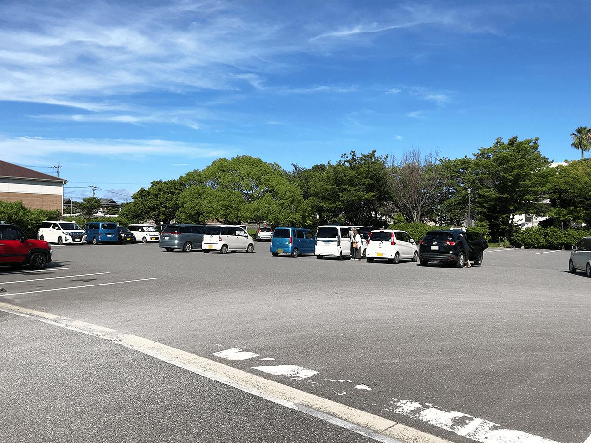 長崎県道の駅彼杵の荘駐車場