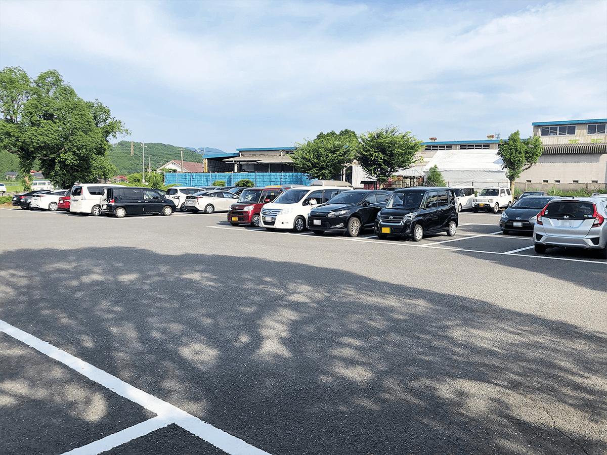 佐賀県道の駅伊万里駐車場