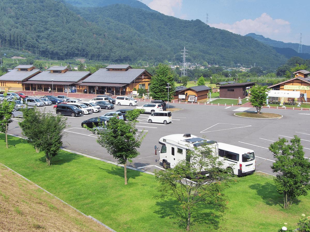 群馬県道の駅あがつま峡 外観