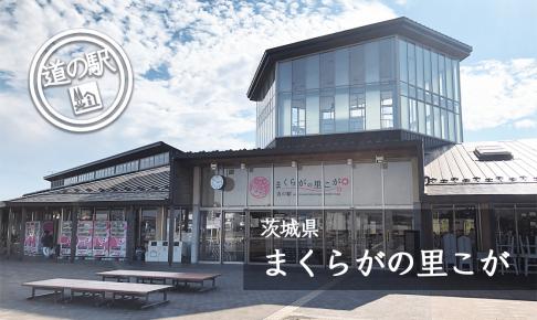 茨城県道の駅まくらがの里こが