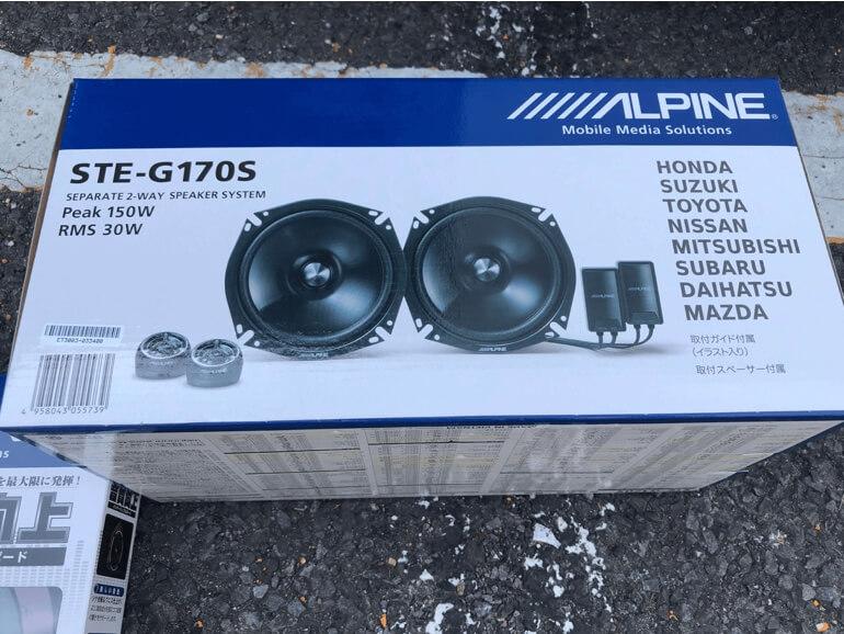 ALPINE STG-G170S