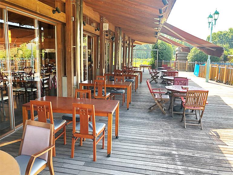 栃木県道の駅みかも レストランテラス
