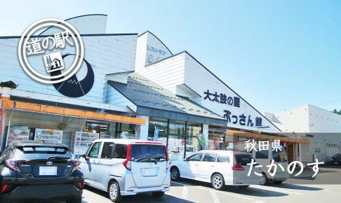 秋田県道の駅たかのす