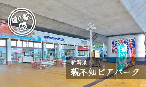 新潟県道の駅親不知ピアパーク