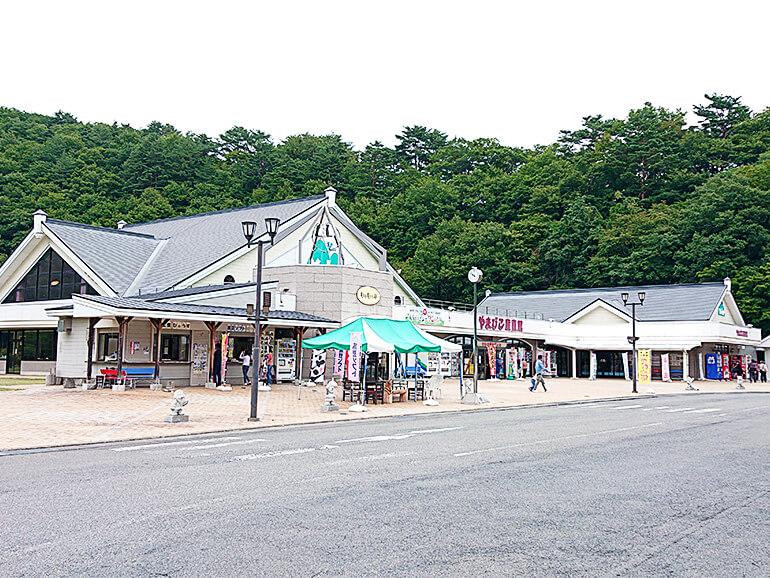 岩手県道の駅やまびこ館外観