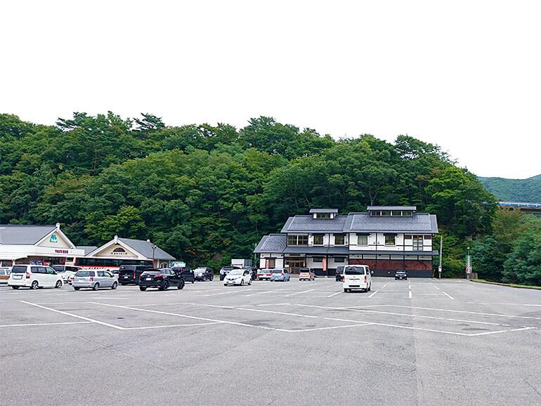 岩手県道の駅やまびこ館駐車場