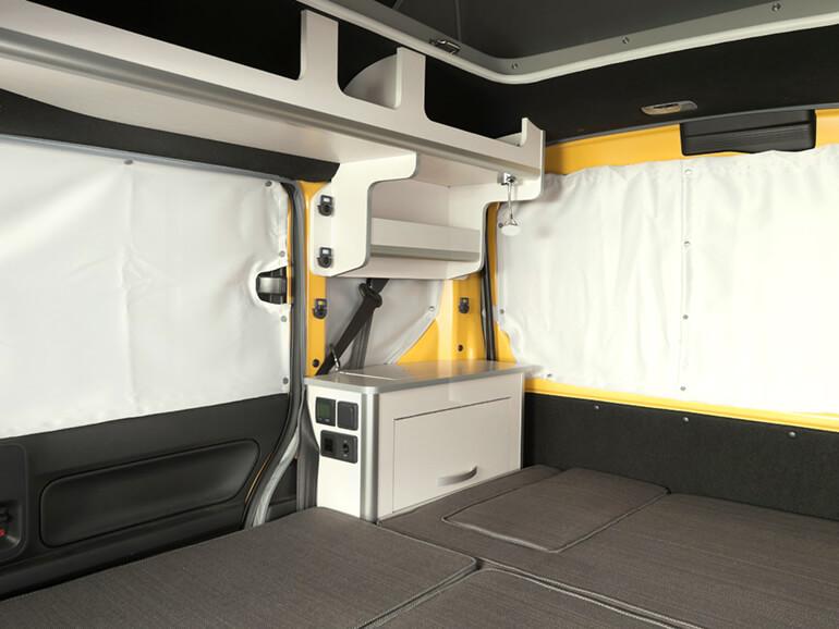ホワイトハウス N-VAN Compo Pop Cabin プライバシーカーテン