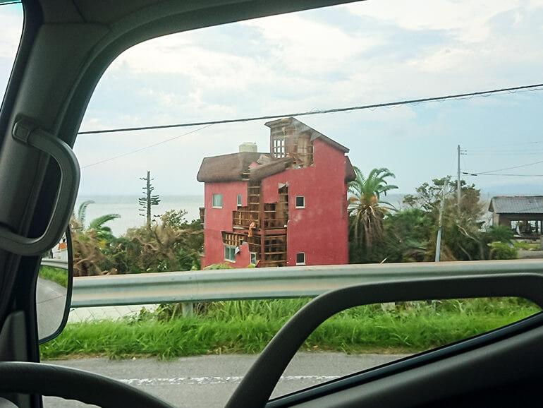 建物 破損