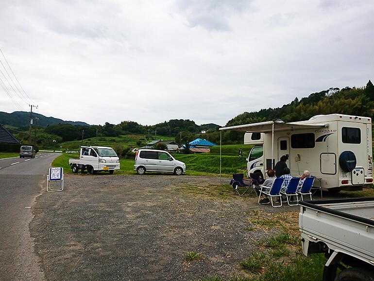 キャンピングカー防災