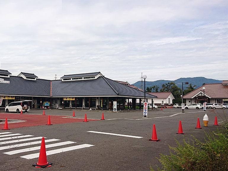 福島県道の駅喜多の郷外観