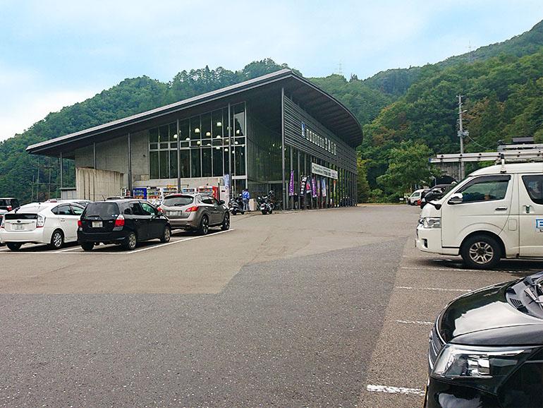 福島県道の駅尾瀬街道みしま宿駐車場