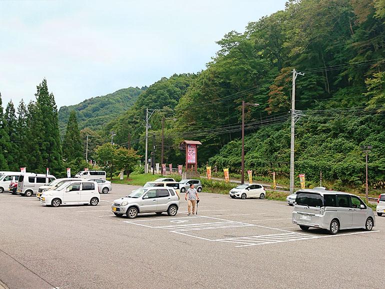 福島県道の駅きらら289駐車場