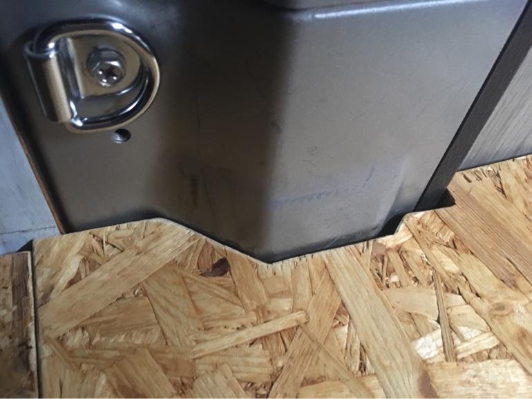 DIY ベッド 淵