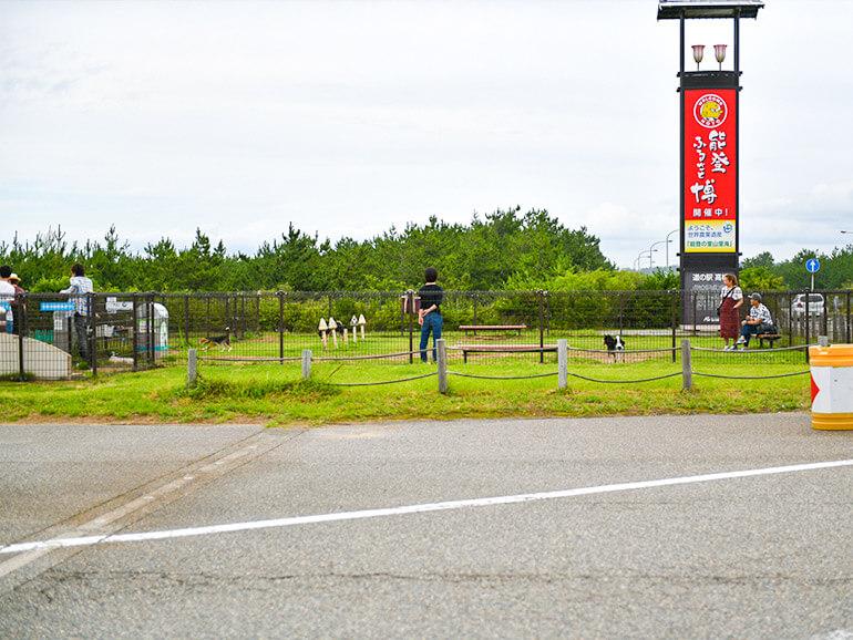 道の駅高松ドッグラン