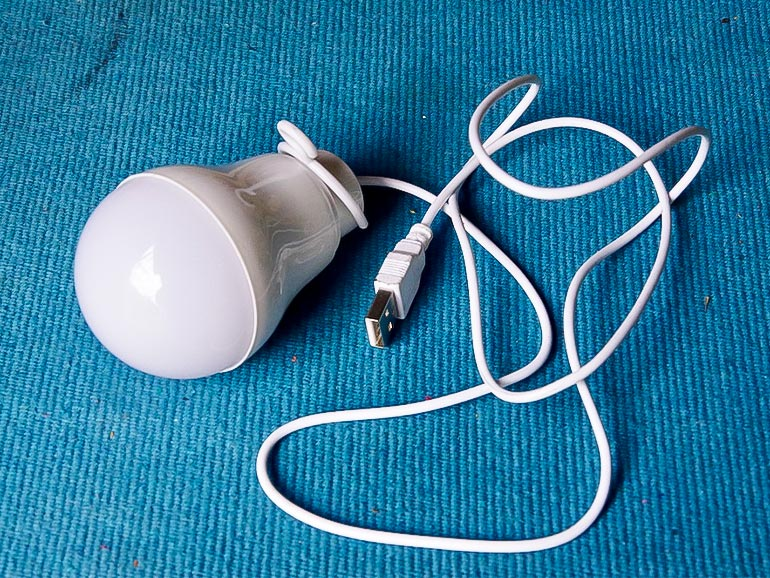 豆電球 ライト