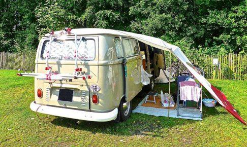 ワーゲンバス キャンプ