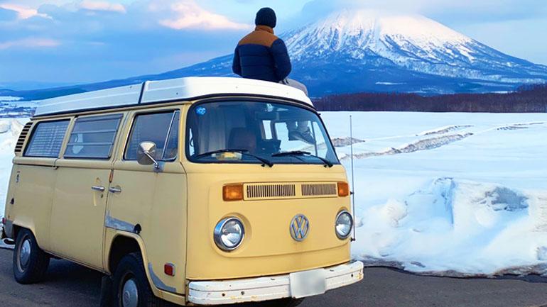 冬の北海道車中泊旅