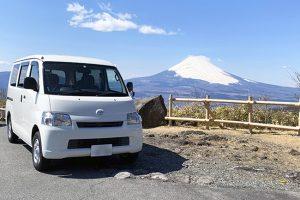 富士山をバックにしたアルトピアーノ