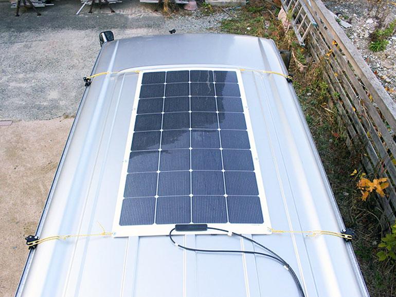 ソーラーパネル suaokiの150W